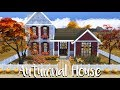The Sims 4: Speed Build - Autumnal Home + CC List