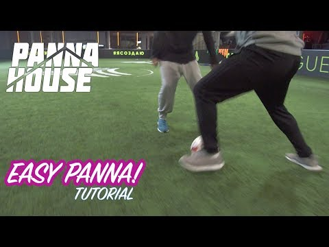 EASY AND EFFECTIVE PANNA Tutorial | Street Soccer Tutorial