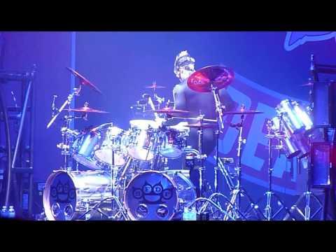 Five Finger Death Punch  DRUM SOLO  Jeremy Spencer Lethbridge AB Canada