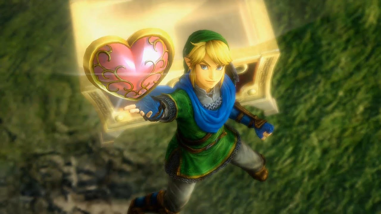 Hyrule Warriors Stage 1 Heart Container Heart Piece And Golden Skulltulas Youtube