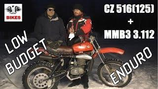 ЧЗ 516 (125) + Минск (ММВЗ) = Супер бюджетный вариант эндуро [EN subs]