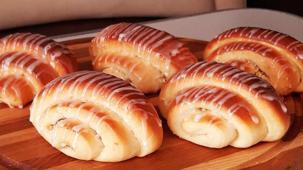 Самые  ароматные булочки с хрустящей начинкой влюбят в себя всех!