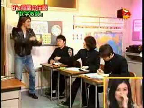 B'z - Funny video Koshi Inaba.avi