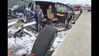 カリフォルニア州マウンテンビューで発生したテスラ Model X の事故に関...