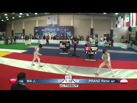 Shanghai 2015 MF GP T64 16 red Pranz R AUT vs Ma J CHN