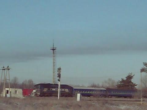 ТЭП70-0222 с поездом №531 Киев-Лисичанск