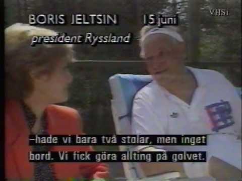 Interview w the unpredictable and hot tempered Boris Jeltsin (1992)