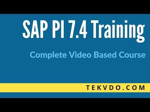 SAP PI Training - Complete video based course - SAP PI(Process Integration) Training