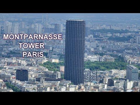 MONTPARNASSE TOWER - PARIS 4K