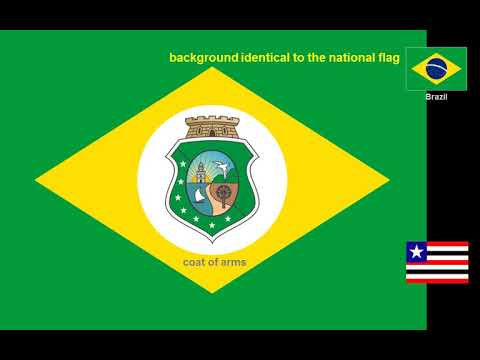 Flags and emblems of the Brazilian states