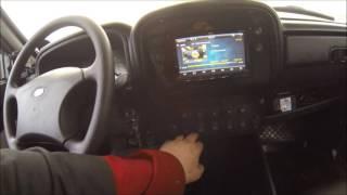 Самодельная консоль ВАЗ 21214