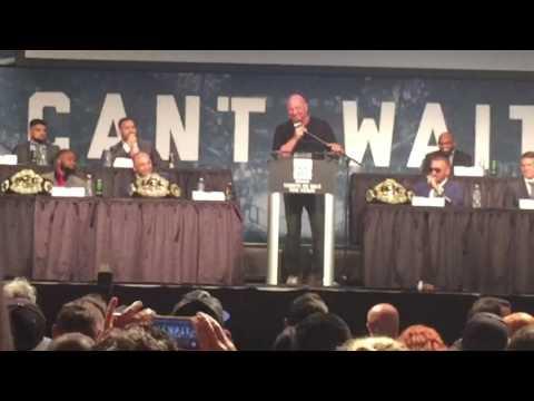 UFC Press Conference #11