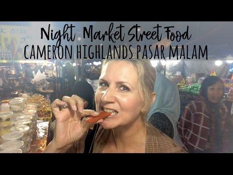 Cameron Highlands Night Market  |  Cameron Highlands Pasar Malam