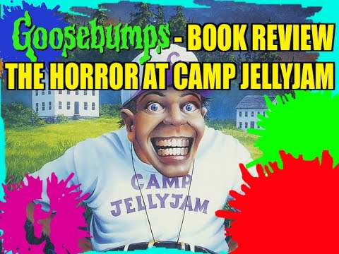 Goosebumps Book Review  The Horror At Camp Jellyjam Youtube