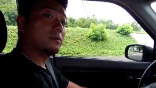 アキーラさんドライブ①親日国パラオ・マラカル島(レンタカー),Marakal-island,Palau