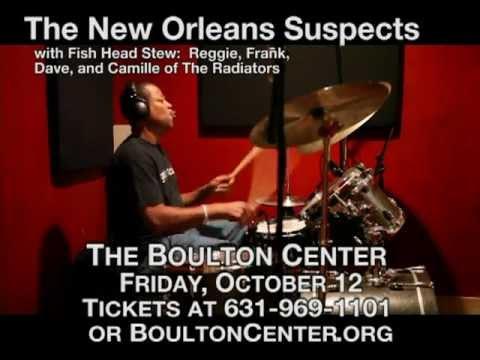 New Orleans Suspects Boulton Center Spot