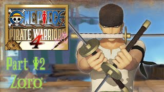 One Piece: Pirate Warriors 4 - Story Mode: Alabasta Arc Stage 1『ONE PIECE 海賊無双4』Part 2