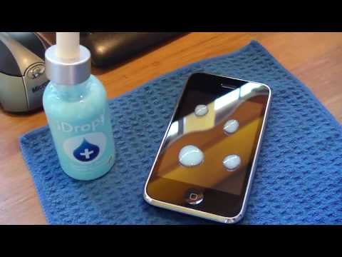 iDrops : Scratch Remover Review : For iPhone + iPod Touch + Mac