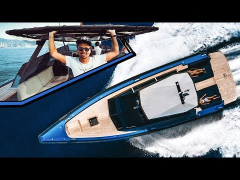 THE WALLY POWER LIFE! (YACHT TOUR) | VLOG³ 56