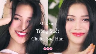SITA MAKEUP | Make Up Trong Suốt Chuẩn Sao Hàn Quốc | Ready to be pretty