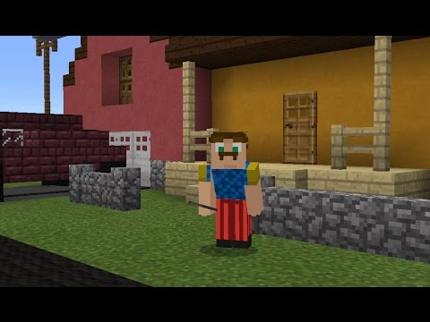 Mcpe hello Neighbour Roleplay!