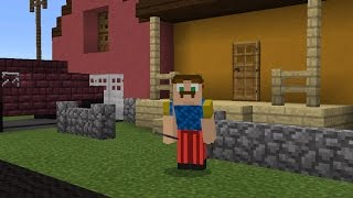 mcpe hello neighbour roleplay