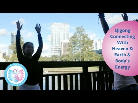 Qigong Healing Movements Group Class - Connecting with heaven and earth and your body's energy