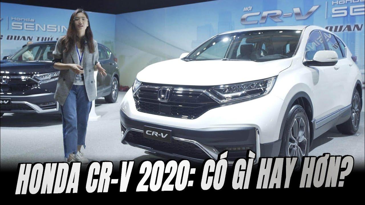 Ra mắt Honda CR-V 2020: Đẹp hơn, xịn hơn, có ngon hơn?   Đường 2 Chiều
