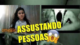 ASSUSTANDO PESSOAS NO OMEGLE #4 (Reações Hilárias)