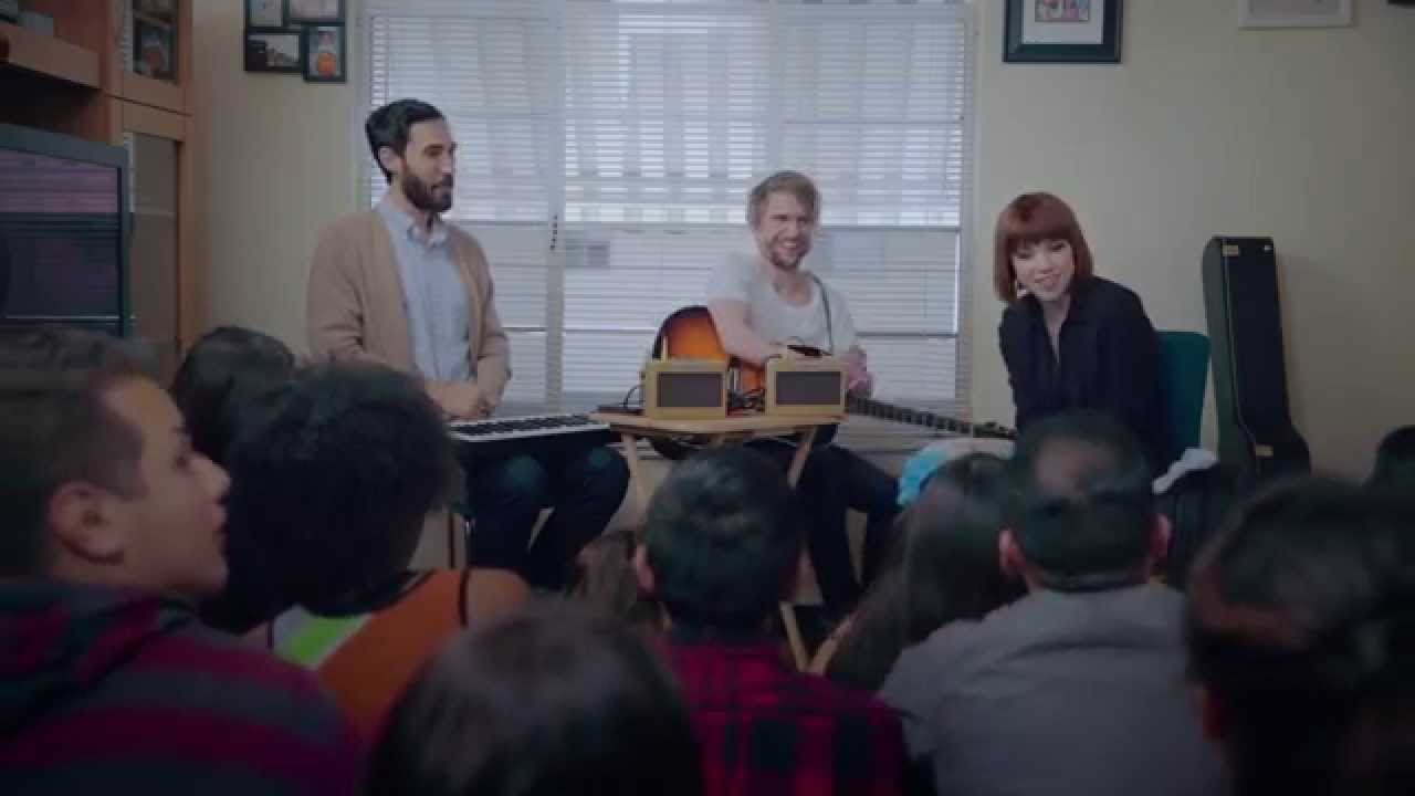 Carly Rae Jepsen: May 1st Make Room Concerts for the 1st