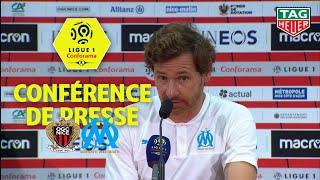 Conférence de presse OGC Nice - Olympique de Marseille ( 1-2 )  / 2019-20