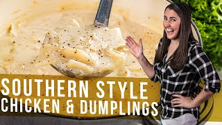 How to Make Southern Style Chicken and Dumplings