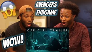 Marvel Studios' AVENGERS: ENDGAME - Official TRAILER REACTION!!!