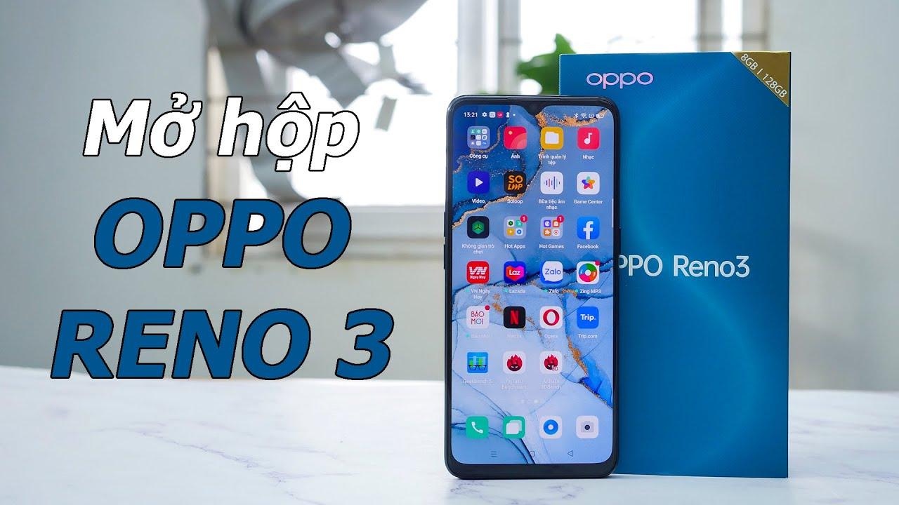 """Mở hộp OPPO Reno 3: Không còn """"thò thụt"""", 4 camera chất chơi"""