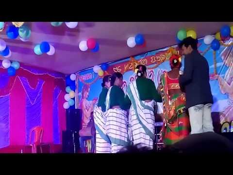 Santali Superstar Singer Subas Hansda And Ranjan Stage program.Song kadam Jharna//
