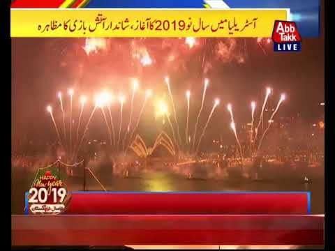 Australia Begins New Year'19 Celebrations In Sydney
