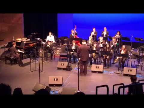 LSHS Jazz Band at Bellevue College - Song1