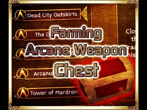 Arcane Legends - Farming Arcane Weapon Chest 2017