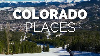 10 Best Places to Visit in Colorado - Travel Video