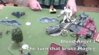 BoLS Battle Report #163 Tau Empire vs Blood Angels | Warhammer 40,000