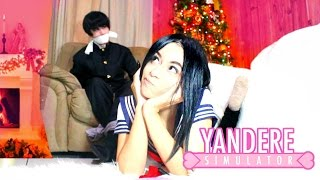 AYANO KIDNAPPED SENPAI FOR CHRISTMAS!! | Yandere Simulator IN REAL LIFE!