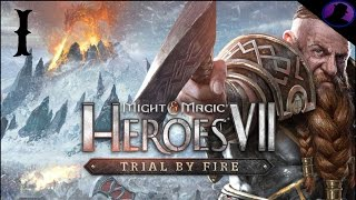 Let's Play Might And Magic Heroes 7: Trial By Fire - Ep. 1 - Dwarves!