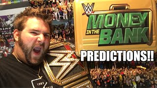 WWE MONEY IN THE BANK 2016 FULL SHOW PREDICTIONS