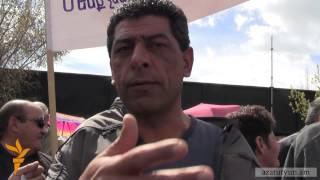 Նաիրիտցիները պահանջում են հանդիպում Սերժ Սարգսյանի հետ