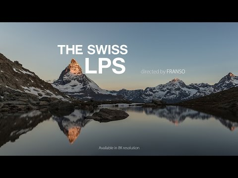 8K The Swiss Alps Timelapse
