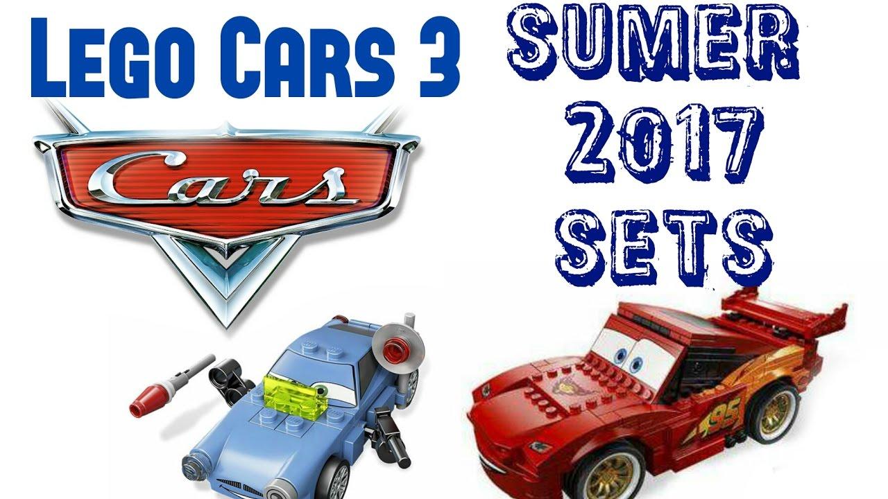 Lego News Cars 3 Sets List 2017 Summer Cruz Ramirez Guido Luigi