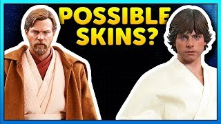 Possible OBI-WAN, LUKE + MORE Skins Found - Star Wars Battlefront 2