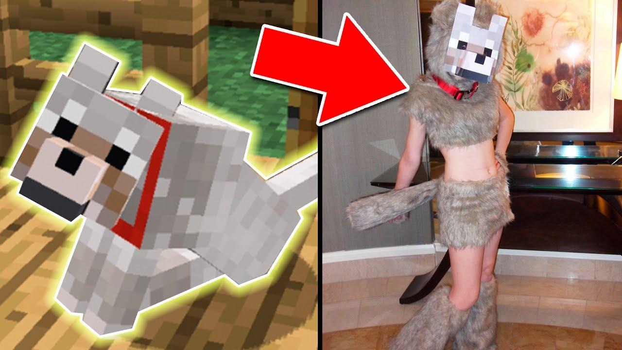 Minecraft vs vida real as son los lobos en la vida real for Videos de minecraft en la vida real
