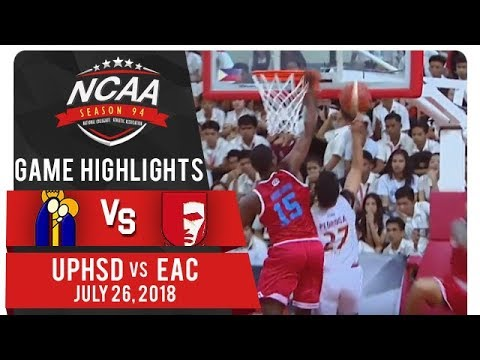 NCAA 94 MB: UPHSD vs. EAC | Game Highlights | July 26, 2018