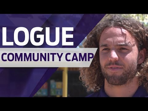 Great to give back: Logue
